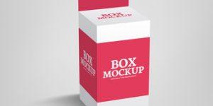 Małe pudełko kartonowe