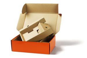 Pudełka fasonowe kaszerowane